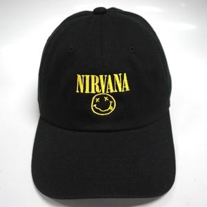 2e66c2cde92 Hats Accessories - Nirvana Dad Hat Slouch Cap